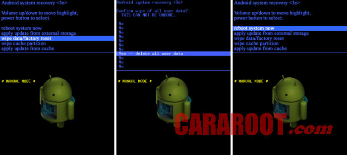 Cara Reset Coolpad via Recovery Android