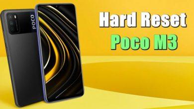 Cara Reset Hp Poco M3