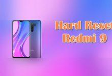 Cara Reset Hp Redmi 9