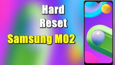 Cara Reset Samsung M02