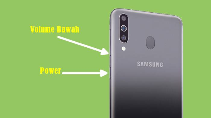 Cara Screenshot Samsung Dengan Tombol