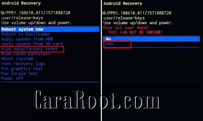 Cara Hard Reset Samsung Galaxy A11 via Recovery