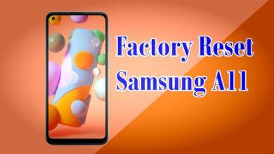 Gambar Cara Reset Hp Samsung A11 1